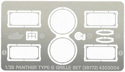 R MODEL #35172 1/35 Metal Track For WWII U S M4A3E8