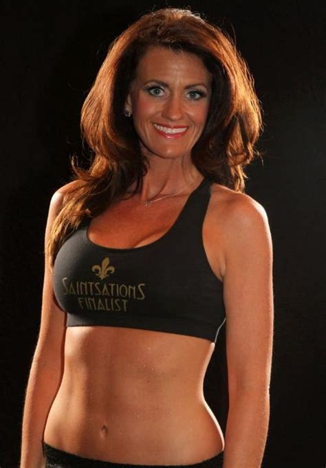 Kriste Lewis Is A 40-Year-Old New Orleans Saints