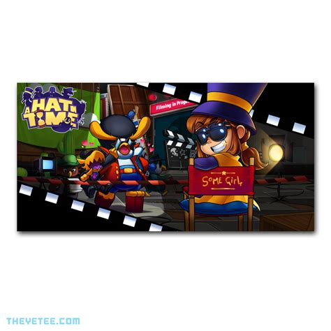 A Hat In Time Poster   The Yetee