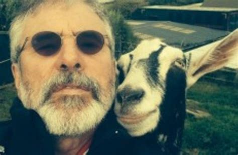 Gerry Adams took a selfie with a goat, and here's the