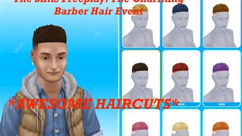 The Sims Freeplay: The Charming Barber Hair Event (88