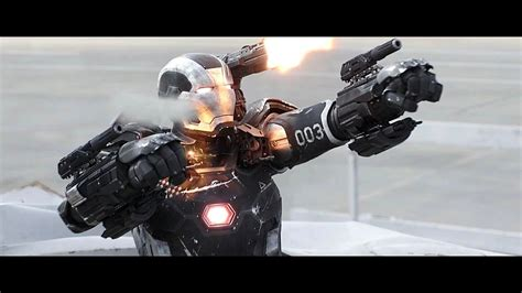War Machine - Fight Moves & Flight Compilation HD - YouTube