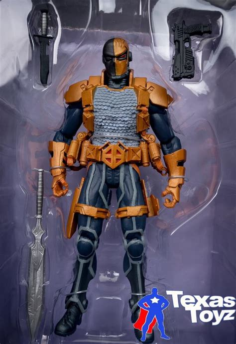 JLA New 52 DEATHSTROKE 6in Action Figure DC Direct Toys