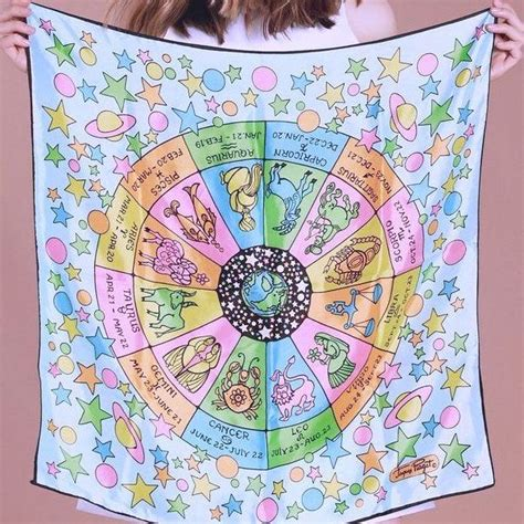 Star Sign Accessories – Astrology Scarves And Zodiac Prints