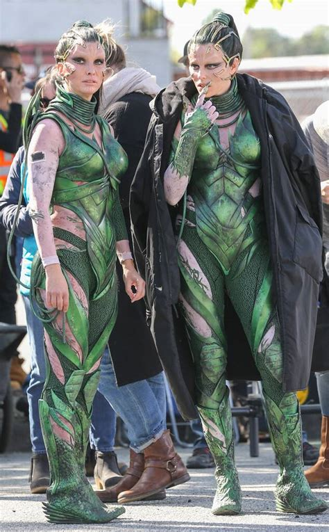 Elizabeth Banks from Stars and Their Stunt Doubles   E! News