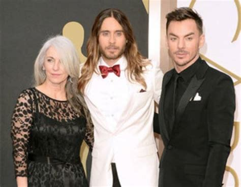 Jared Leto & Constance Leto from Parents as Red Carpet