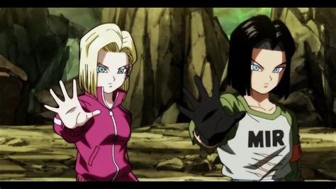 Robot Fight, Android 17 and 18 vs Viera Universe 3