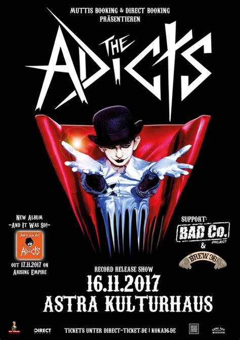 Astra Berlin | THE ADICTS