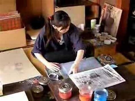 """Japanese Traditional Craft Culture """"Wood Block Prints"""" by"""
