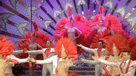 Moulin Rouge 125th anniversary celebrations - YouTube
