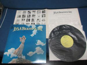 It's A Beautiful Day ST First Album Japan Promo Label