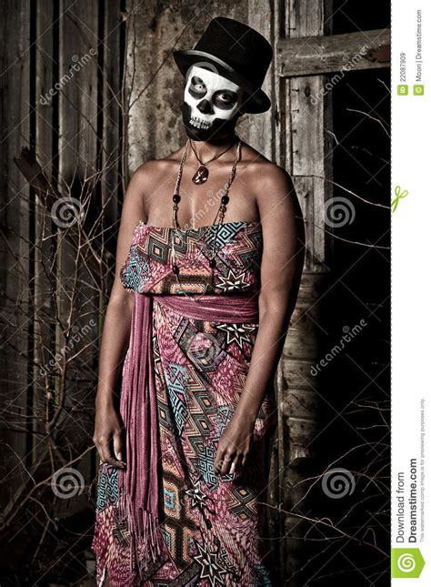 Voodoo Priestess Royalty Free Stock Images - Image: 22087909