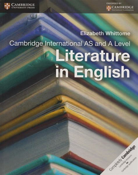 Cambridge international AS and A level literature in