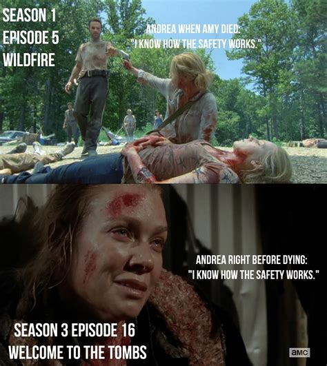 """Andrea From """"The Walking Dead"""" Summed Up In 31 Pictures"""