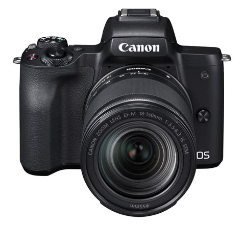 Canon EOS M50+EF-M 3,5-6,3/18-150 IS STM + Mount Adapter