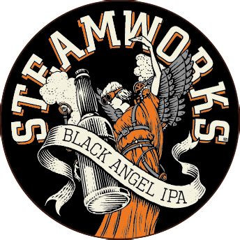 Black Angel IPA from Steamworks Brewing Company