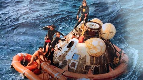 Navy Seal 1st Person Apollo 11 Crew Saw After Moon Return