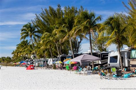 Red Coconut RV Park, Campground, Fort Myers Beach, Florida