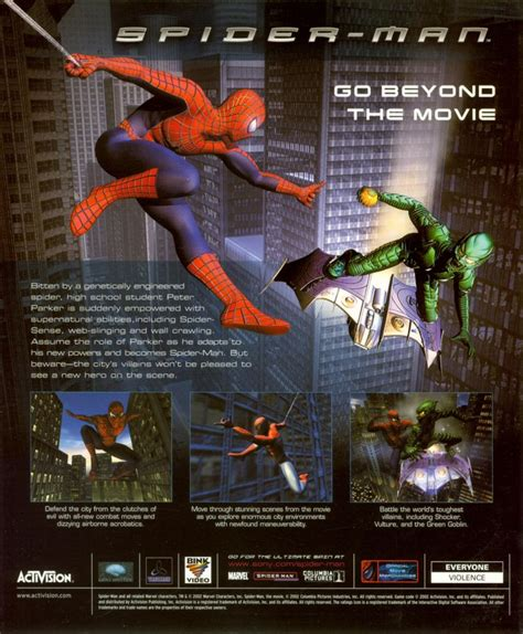 Spider-Man (2002) GameCube box cover art - MobyGames