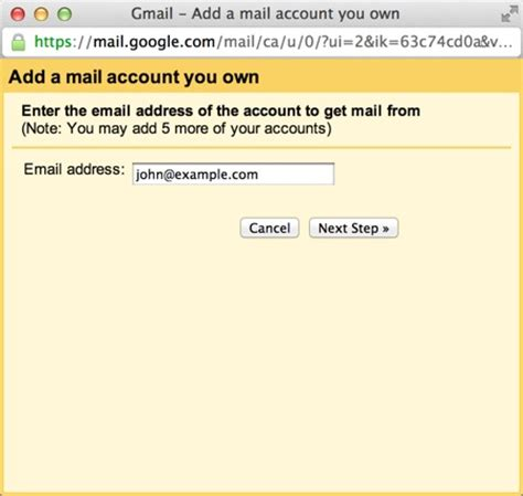 Access your Email in Gmail