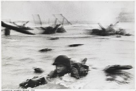 Omaha Beach, Normandy, France (Getty Museum)