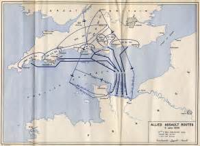 Allied Assault Routes - Map