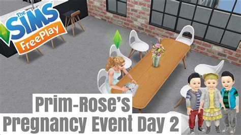 The Sims FreePlay - Pregnancy Event (Day 2) Baby Name