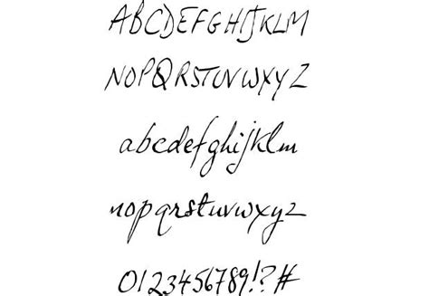 JP Hand Slanted font by Jonathan Paterson - FontRiver