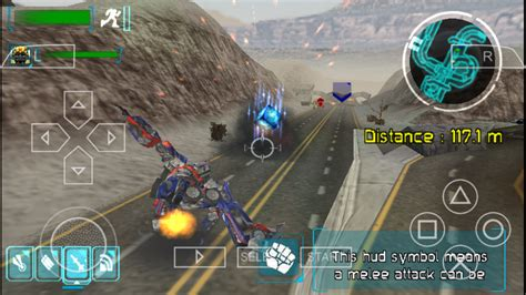 Transformers The Game (USA) PSP ISO Free Download - Free