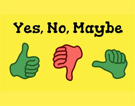Yes, No, Maybe - ESL Kids Games