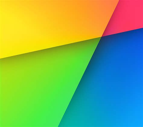 Colorful red, green and blue yellow | wallpaper