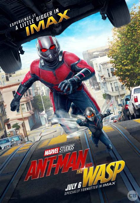 Marvels Ant-Man and the Wasp gets a giant-sized IMAX poster