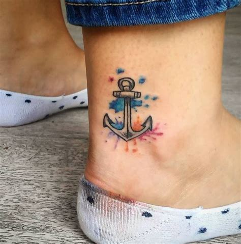 50 Cute Ankle Tattoos Ideas for Men and Women (2018