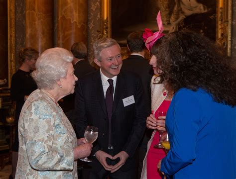 One Direction's Niall Horan greets the Queen during 'mind