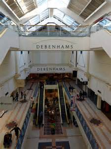 County Mall interior in Crawley, West