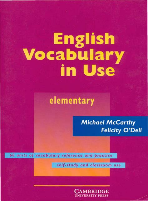 Book Download: English Vocabulary in Use Elementary
