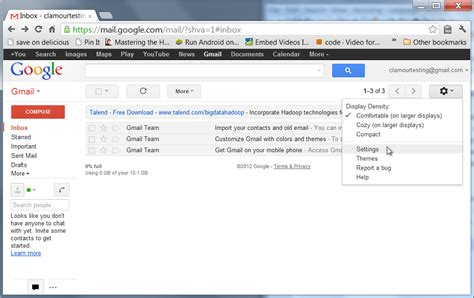 Check POP Mail Using a Gmail Account – Clamour Creative Inc
