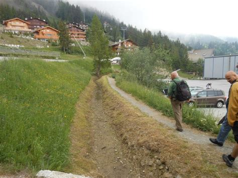 Walking the bisses in the Valais