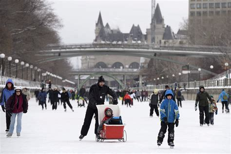 Rideau Canal Skateway closed due to January thaw – RCI