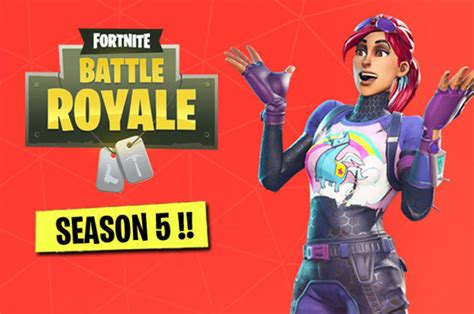 Fortnite Season 5 DOWNTIME, Patch Notes CONFIRMED as Epic