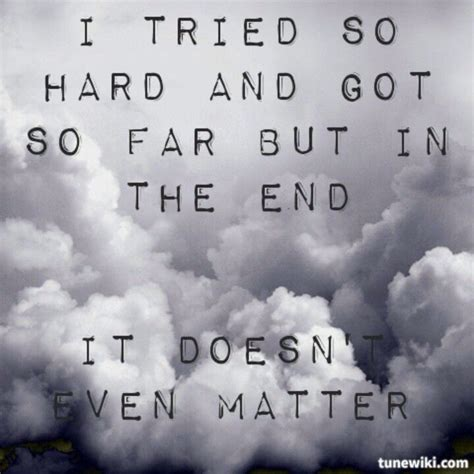 Linkin Park {In The End} | Linkin park, Music quotes