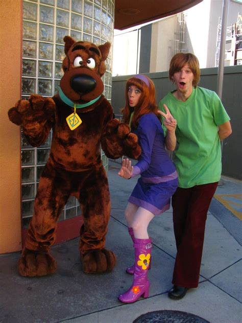 Meeting Scooby, Daphne and Shaggy at Universal Studios