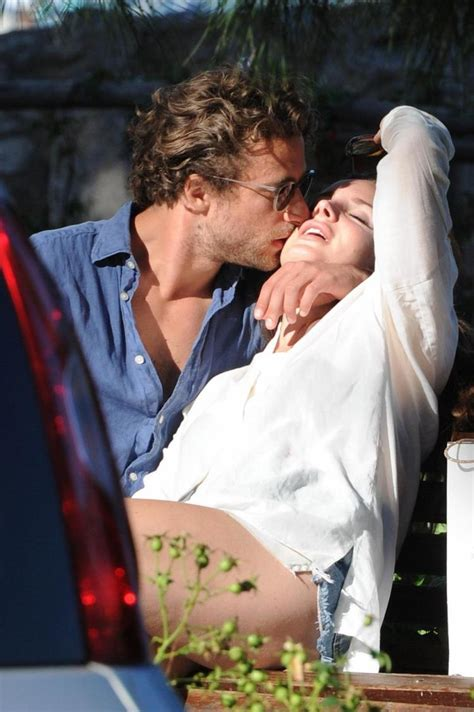 Lana Del Rey cuddles up to Italian photographer after