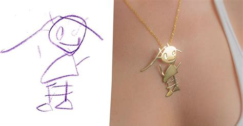 They Transform Kid's Drawings Into Beautiful Pieces Of