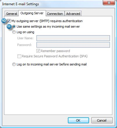 Configure Outlook with an Outlook