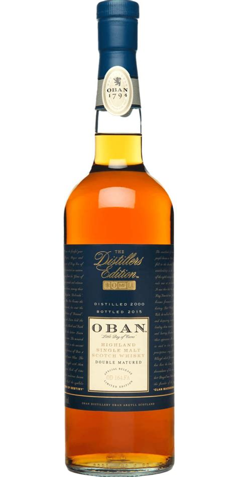 Oban 2000 - Ratings and reviews - Whiskybase