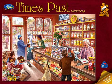 Holdson 1000 PC Sweet Shop Times Past Jigsaw Puzzle