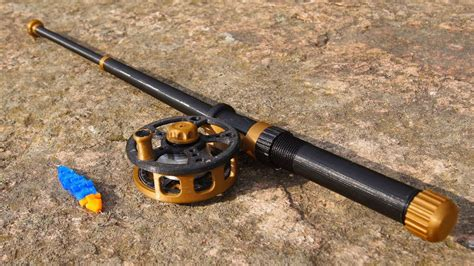 Awesome 3D Printed Fishing Rod! - YouTube