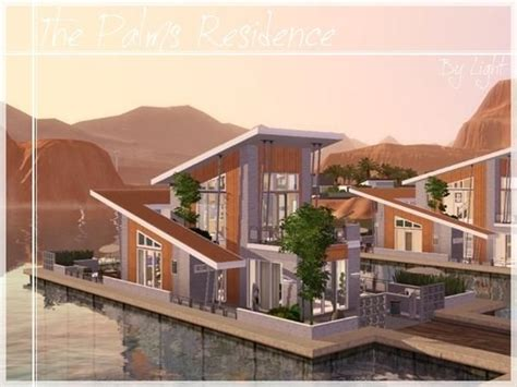 The Palms Residence / The Sims 3 (download) | Sims 4