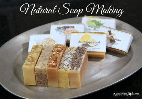 Natural Soap Making (Cold Process) ~ a Tutorial, in Photos